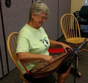 Lynn Playing